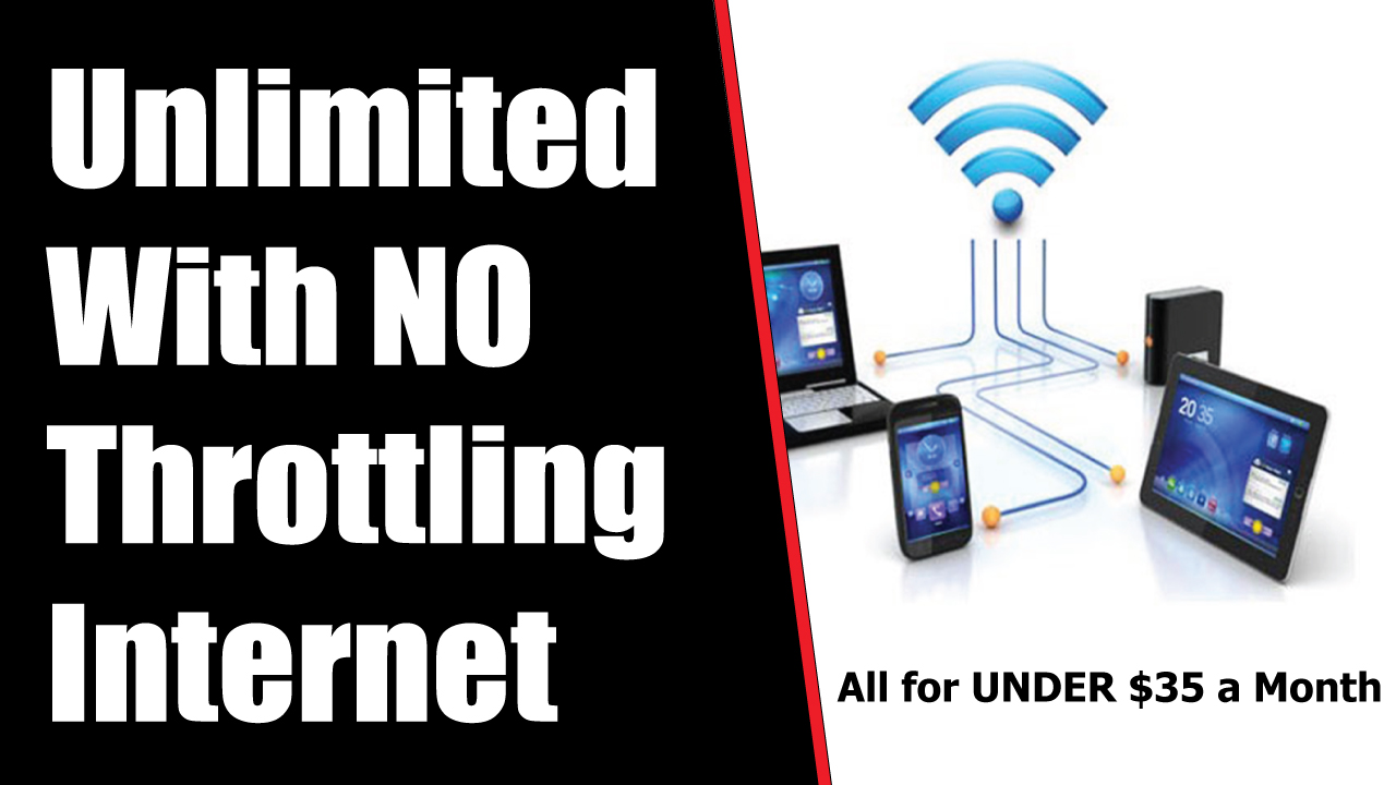 Unlimited Internet for Under $35 with No Throttling HACK - I